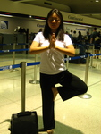 In-Flight MP3 Yoga Classes Make Travel Less Stressful