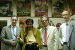 Croatian Diplomats and Mr. Niko Bulic with Mr. Dev Anand