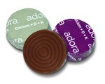 Adora  Chocolate Calcium comes in milk and dark chocolate. Each piece