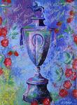 """Bill Lopa's """"Jockey's Jubilee"""" Painting"""