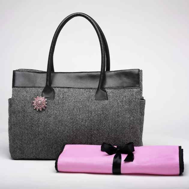 Beca Bags Versace Diaper Bagmeet The Ultimate In Baby Chic This Elegant And Sophisticated Bag With Wool Italian Leather Handles Is