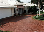 Decorative concrete driveways can enhance the curb appeal of your home.