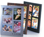 eMotion Talking Picture Frame - 5 Photo Collage