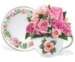 Capodimonte Teacup Bouquet