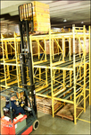 A pallet rack flow storage system is essential to planning a warehouse – Steel King is one of the first to bring all the elements together.
