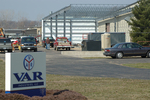 Gateway starts construction of an 18,000 square foot expansion on VAR Industries in Elkhart, Indiana., part of 3.5 million dollar investment for the community.
