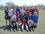 Calgary Celtic Girsl Squad on Italy tour with EduKick