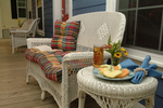 Porch of The Woodlake by EnergyMate Homes