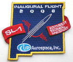 "Official, limited-edition, commemorative ""SL-1 Mission Patch"""