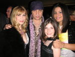 "Steven Van Zandt presented the teen band ""Creation"" with a special award from We Are Family Foundation April 25.  Pictured (l to r) are Maureen Van Zandt, Steven Van Zandt, Raechel of ""Creation,"" Molly of ""Creation."""