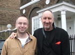 Mark Wilkerson and Pete Townshend