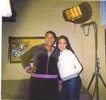 Jaqueline Fleming and Queen Latifah