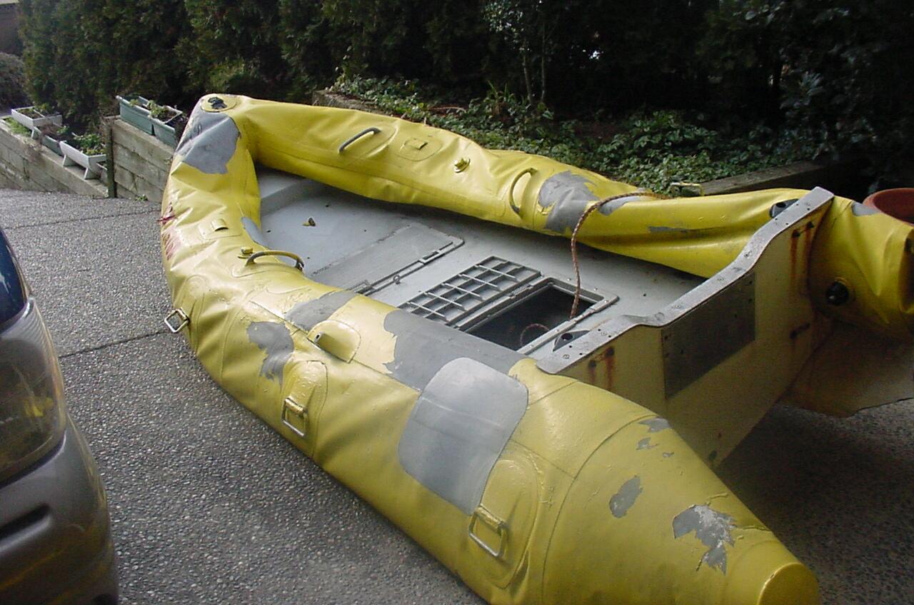 состав клея для ремонта лодок из пвх