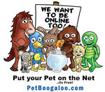 Does your pet blog?