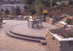 Enhance landscaping and decorating projects with concrete pavers.