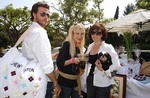 Tori Spelling, Dean McDermott and Hedy Manon
