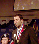 Vlade Divac Proudly Receives His Ellis Island Medal of Honor