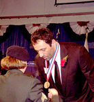 NBA Superstar Vlade Divac receives the Ellis Island Medal of Honor in Recognition for the Work His Charity Group Seven Has Done
