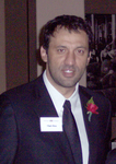 Vlade Divac at NECO cocktail Reception at Metropolitan Club