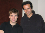 Illusionists Darren Romeo and David Copperfield