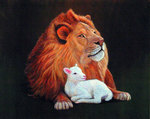 """""""Revelation"""" The Lion And The Lamb"""