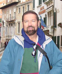 George Mc Quade, V.P., MAYO Communications on a recent trip to Venice, Italy.