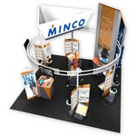 nParallel Tradeshow Display for Minco