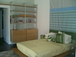 Bedroom Bookshelves with Base Cabinets