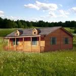 Spirit Cabins Ponderosa Modular Log Cabin