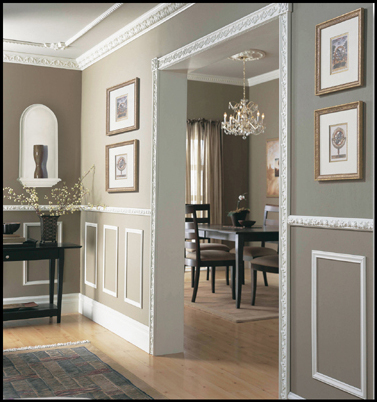 Trouble Free Corner Blocks For Polyurethane Moldings Are A