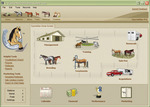 EquineMax 2006 home screen