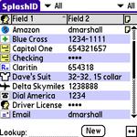 SplashID screen shot