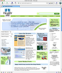Health Site Guide Front Page