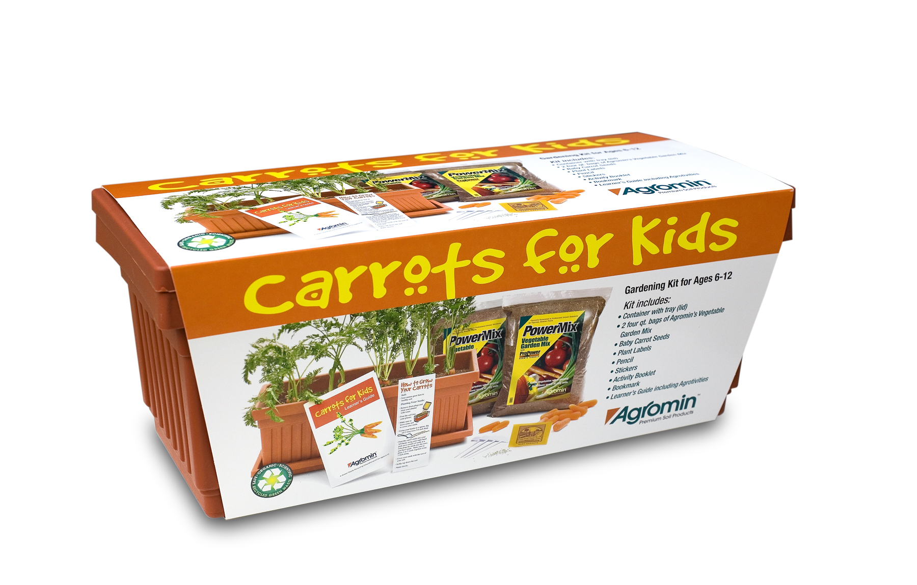 Agromin donates 300 carrots for kids gardening kits to for Gardening kit for toddlers
