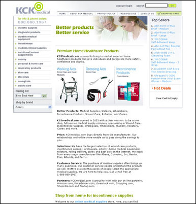 KCK Medical has recently added Abena incontinence products to their ...