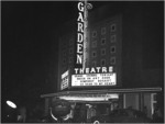 Garden Theatre Opening Night