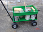 A painters dream cart!