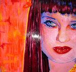 Kelly Osbourne art piece by Olan