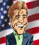 PicktheParty's Caricature of Mel Gibson