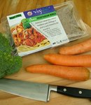 Redwoods Wholefoods high protein vegetarian mince fortified with Vitamin B12 and vegetarian Omega 3 Essential fats