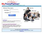Wizdom MyTransPlanner! login screen