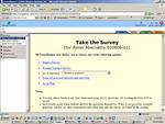 screen shot: MyTransPlanner Survey