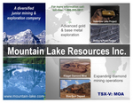 Mountain Lake has a number of projects on the go