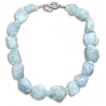 OCEAN GODDESS, AQUAMARINE NECKLACE