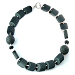 Black Onyx Moonlight Sonata necklace