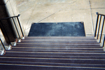 Heated Stair Treads with Heated Mat