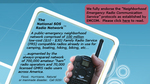 National SOS Radio Network -- based on the 100 million Family Radio Service (FRS) radios already in the public's hands