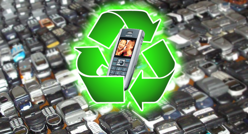 Get paid for recycling your old cell phone at - Recycling mobel ...