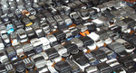 Collected Cell Phones for Recycling