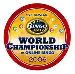 World Championship Online Bingo Award